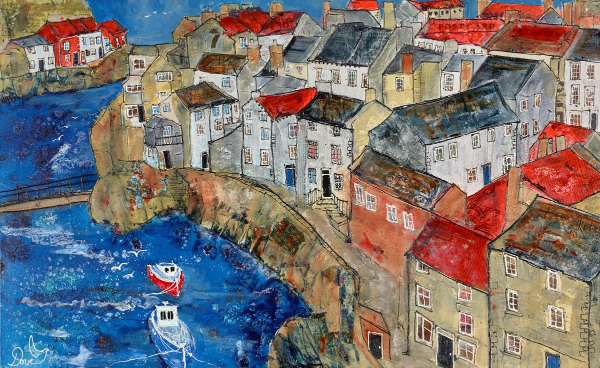View Over Staithes